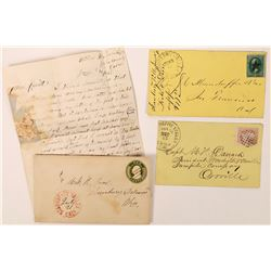 Strawberry Valley Postal History Collection  (123811)