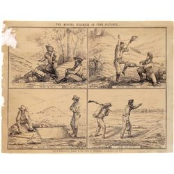 Lettersheet - The Mining Business in Four Pictures – Rare Quirot & Co. Version   (126741)