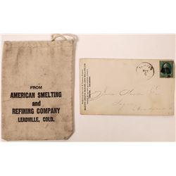 Denver, Colorado Mining Cover and Bag  (123816)