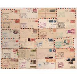 First Flight Covers: Massachusetts  (116648)