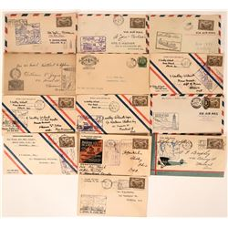 Canadian First Flight & Air Mail Covers: January 1929  (115105)