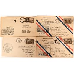 Canadian Airport Opening Air Mail & First Flight Covers: June 1929  (115104)