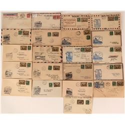 Canadian First Flight Covers: August and December 1931  (115069)