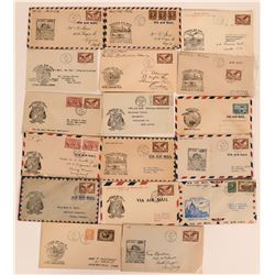 Canadian 1937 First Flight Covers  (116588)