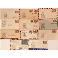 Canada 1st Flight Covers: White Horse to Juneau and Fairbanks, Alaska  (115044)