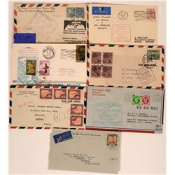 Misc. Canadian First Flight Covers  (115060)