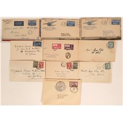 Newfoundland First Day Covers for Airmail  (115090)