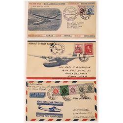 Hong Kong Air Mail Covers - 3  (126205)