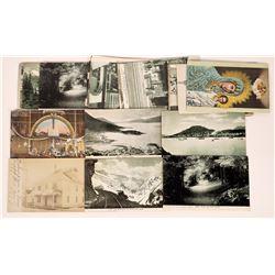 Alaska Postcards Some RPC.  (125493)