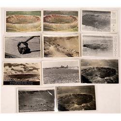 Meteor Crater Historical Postcard Collection  (126623)