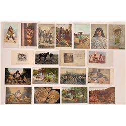 "Arizona Postcards ""Native American"" Group  (125459)"
