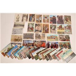 Navajo Indian Postcard Group  (120952)