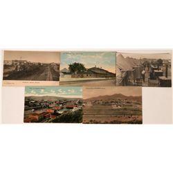 So. Arizona Cities Postcards (5)  (118505)