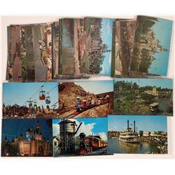 1950's Disney Postcard Collection (Lot 2)  (123514)