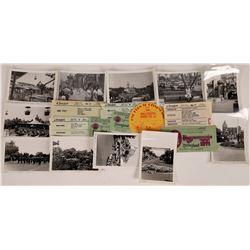 1950's Disneyland Photographs and Ephemera  (123510)