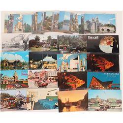 Vintage Disneyland Post Card Collection (# 1)  (123519)