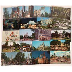 Vintage Disneyland Post Card Collection (# 2)  (123518)