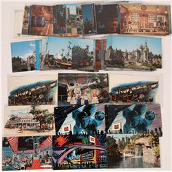 Vintage Disneyland Post Card Collection (# 3)  (123517)