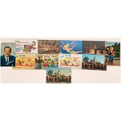 Walt Disney and his Entourage (Mickey Mouse, Donald Duck, Abraham Lincoln, Tinker Bell, etc.)  (1235