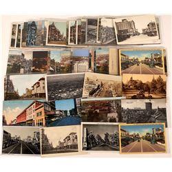 Fresno Street Scene Postcards-50  (126485)