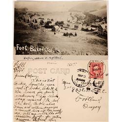 Rare RPC of Ft Baker, California  (126836)