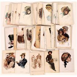 Harrison Fischer Postcards  (126507)