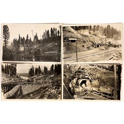 Big Meadows Dam Real Photo Postcard Historical Collection  (126611)