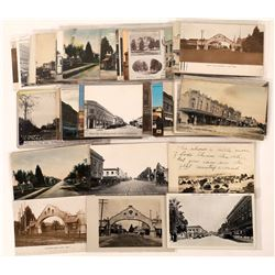 Postcards of Lodi, CA, Street Scenes-45  (125712)