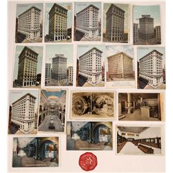 Banks in Los Angeles RPCs and Litho Postcards (17)  (125729)
