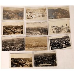 Bird's Eye Views of Nevada City Real Photo Postcards  (122528)