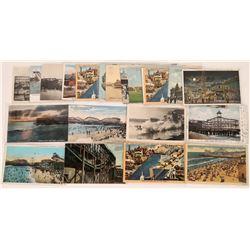 Ocean Park Calif. Post Cards  (125538)