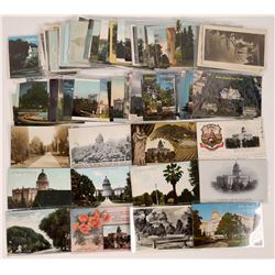 Postcards of the California State Capital building and Governor's Mansion  (125613)