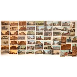 Sacramento Street Scenes Postcards ~ 84  (126817)