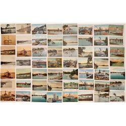 Sacramento Waterway Postcards ~ 56  (126820)