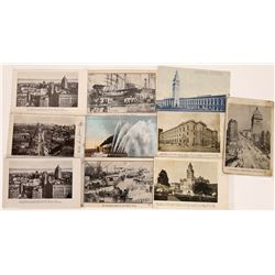 San Francisco Real Photo Postcards Before the Earthquake and Fire  (124739)