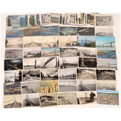 San Francisco-Oakland Bay Bridge Postcard Collection  (124734)