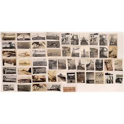 San Francisco Oakland Bay Bridge Construction Post Card Collection  (124730)