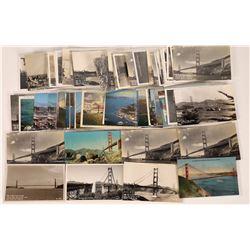 Golden Gate Bridge Views Postcard Collection  (126586)