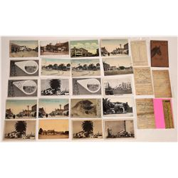 San Mateo, Calif., RPCs and Litho Postcards plus Ephemera  (125747)
