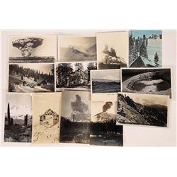 Lassen Peak Historical Postcard Collection  (126587)