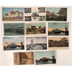 Stockton, Cal. Advertising & Mineral Baths RPCs (11)  (127339)