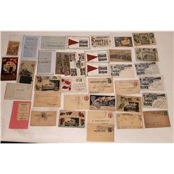 Stockton, Cal. Greeting RPCs Litho Postcards Ephemera (37)  (127344)