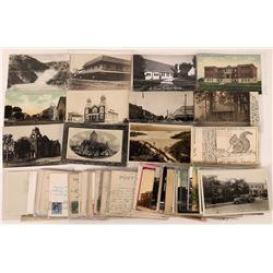 Turlock, CA RPC's & Postcard Collection  (125708)
