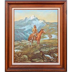 Landscape Oil Painting (Original), G. Heston  (85812)