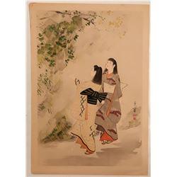 Japanese Print  (109498)