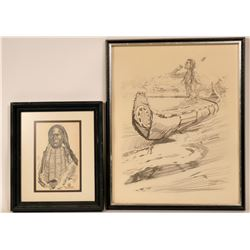 Two Artworks of Native Americans  (119009)