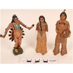 American Indian Pottery Figures (3)  (121754)