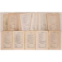 Southwest Museum Masterkey Booklets  (125517)