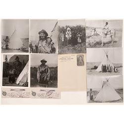 Native American Photographs and Ephemera  (124424)