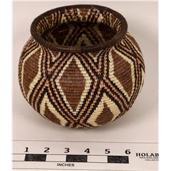 Panamanian Wounaan Rainforest Basket  (125589)